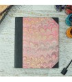 [Various Sizes] Pink Marbled Album with Canvas Spine