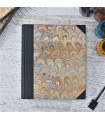 [Various Sizes] Beige Marbled Album with Canvas Spine