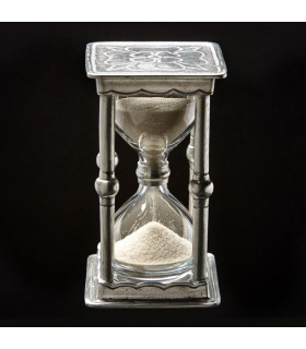 Italian Pewter Square Hourglass