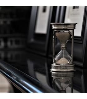 Italian Pewter Round Hourglass