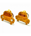 Fiat 500 Leather Key Ring