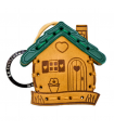 House Leather Key Ring