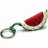 Watermelon Leather Key Ring