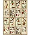 Musical Instruments & Tools Wrapping Paper