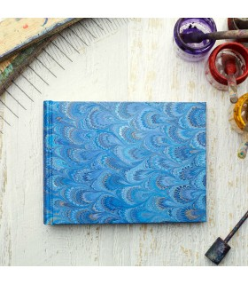 Royal Blue Marbled Album