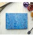 Royal Blue Marbled Album