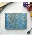 Marine Blue Marbled Album