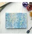Light Blue Marbled Album