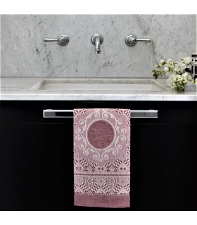 [Various Colours] Medallion Hand Towel