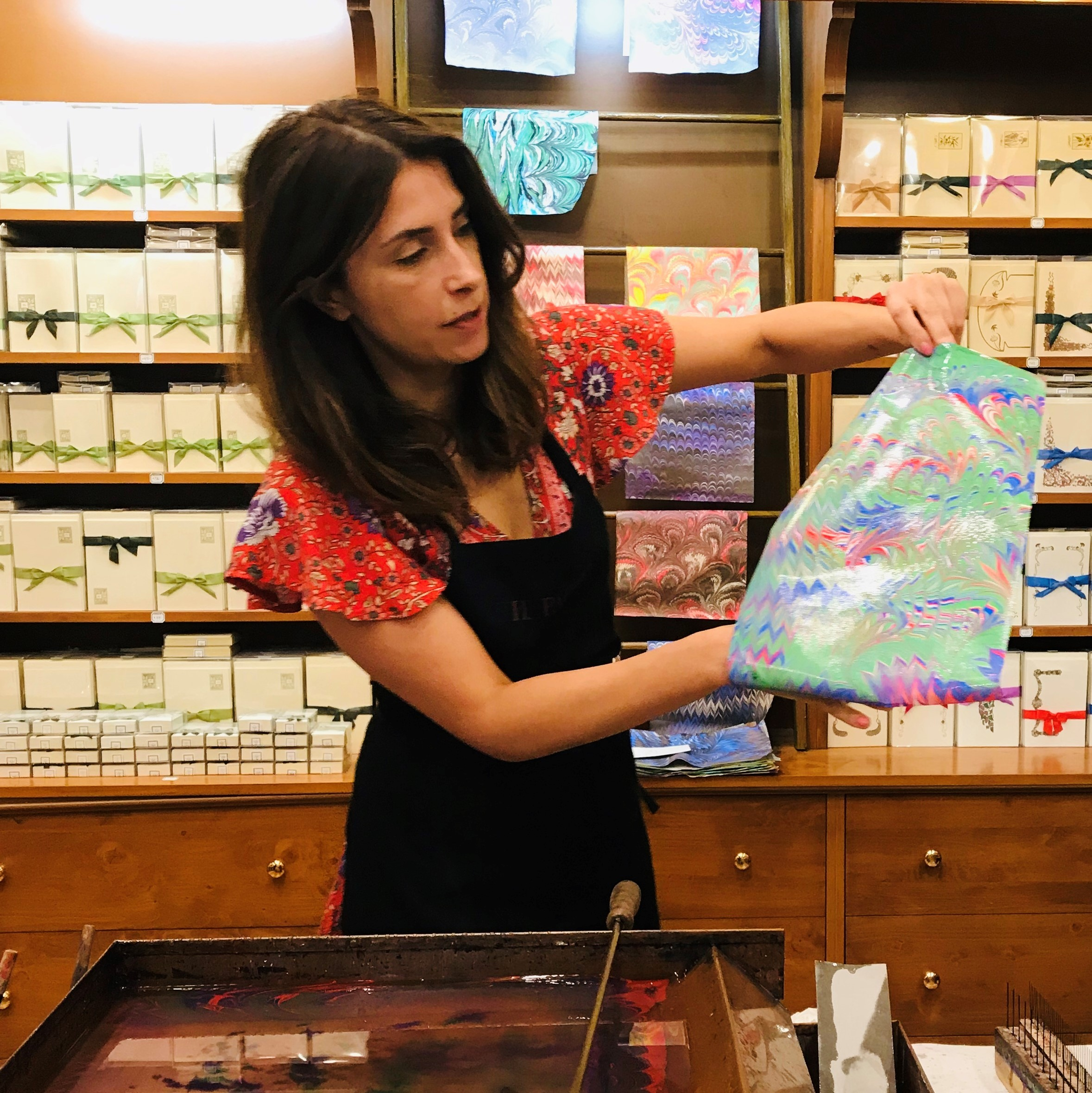 Italian Paper Marbling Workshop